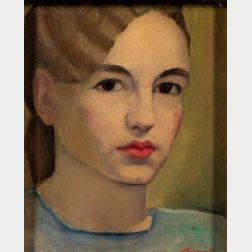 Gertrude Tonsberg (American, 1902-1973)      Self Portrait