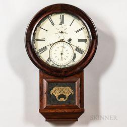 Burwell & Carter Calendar Wall Clock