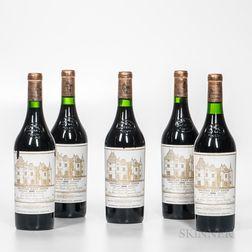 Chateau Haut Brion 1986, 5 bottles