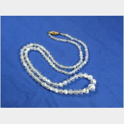 18kt Gold and Moonstone Necklace