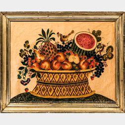 Basket of Fruit Watercolor Theorem