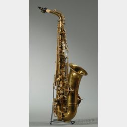 American Alto Saxophone, The Buescher Company, Elkhart, c. 1930, Serial # 238314