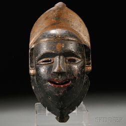 Wooden Mask of Kali