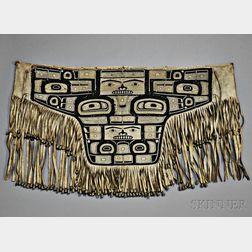 Tlingit Chilkat Shaman's Dance Apron (Blanket Waist Robe)