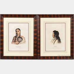 History of American Tribes   Prints After Charles Bird King