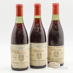 Louis Latour Corton Grancey 1969, 3 bottles