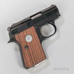 Colt Junior Pocket Model Semiautomatic Pistol