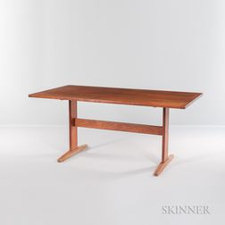 Faarup Mobelfabrik Teak Trestle Table