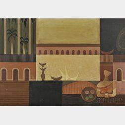 Mario Carreño (Cuban, 1913-1999)      Tropical Splendor