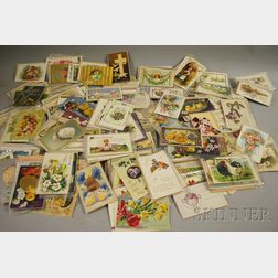 Collection of Early 20th Century Easter Postcards