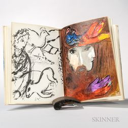 Chagall, Marc (1887-1985) Bible [Illustrations]   Verve   Vol. VIII, Nos. 33 and 34.