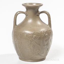 Wedgwood Drabware Portland Vase