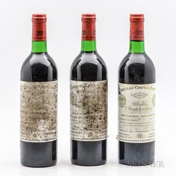 Chateau Cheval Blanc 1976, 3 bottles