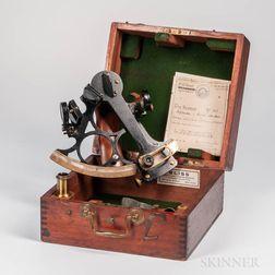 Stevenson & Harris 8-inch Brass-cased Sextant