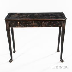 Japanned Side Table