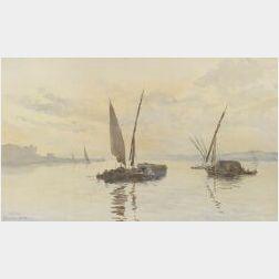 Charles King Wood (American, 19th Century)  Algiers