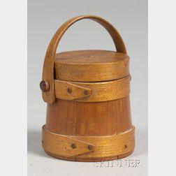 Miniature Wooden Firkin