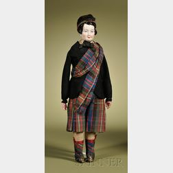 KPM China Boy in Scottish Outfit