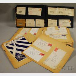 Two World War II Era Correspondence Scrapbooks