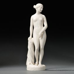Minton Parian Figure of The Greek Slave