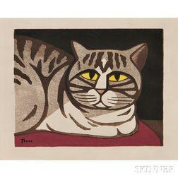 Tomoo Inagaki (1902-1980), Woodblock