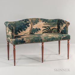 Verdure Tapestry-upholstered Settee