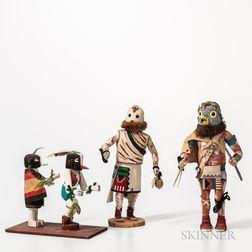 Four Contemporary Hopi Katsinas