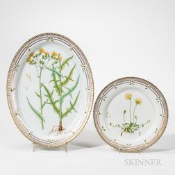 Royal Copenhagen Flora Danica Dish and Serving Platter