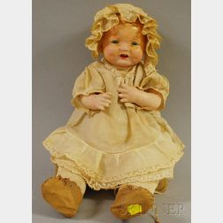 "Effanbee ""Bubbles"" Shoulder Head Baby Doll"
