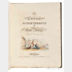 Jenkins, James (fl. circa 1817) The Naval Achievements of Great Britain, from the Year 1793 to 1817.