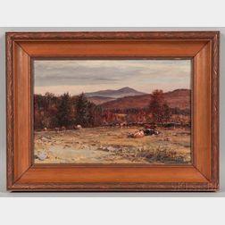 William Preston Phelps (New Hampshire, 1848-1923)       Monadnock from Keene, N.H.