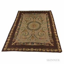 Aubusson Flat-woven Carpet