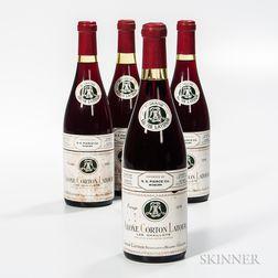 Louis Latour Aloxe Corton Latour Les Chaillots Rouge 1976, 4 bottles
