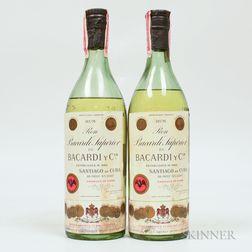 Bacardi Carta Blanco, 2 4/5 quart bottles