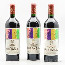 Chateau Mouton Rothschild 2001, 3 bottles