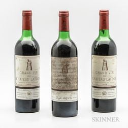 Chateau Latour 1975, 3 bottles