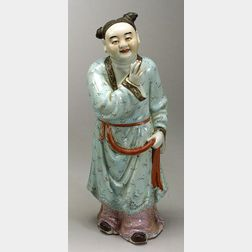 Porcelain Figure of a Deity