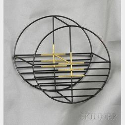 Modernist Brooch, Joe Wood