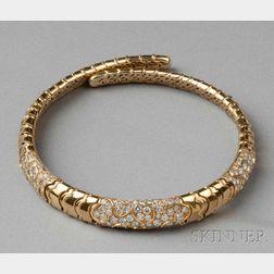 18kt Gold and Diamond Necklace, Marina B.