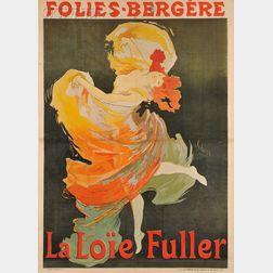 Jules Chéret (French, 1836-1932)      Folies-Bergère/La Loïe Fuller