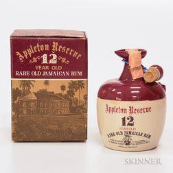 Appleton Reserve 12 Years Old, 1 4/5 quart bottle (oc)