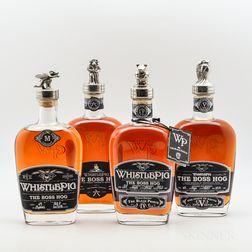 Whistle Pig Boss Hog, 4 750ml bottles