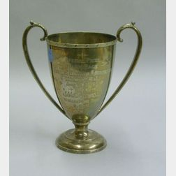 1899 Sterling Silver Wagon Race Trophy
