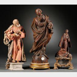 Three Continental Devotional Figures