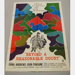 Reasonable Doubt   and The Courtship of Eddie's Father   Movie Poster