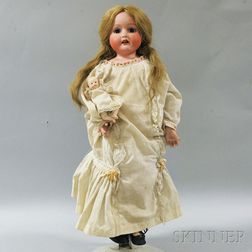 Morimura Brothers Bisque Shoulder Head Doll
