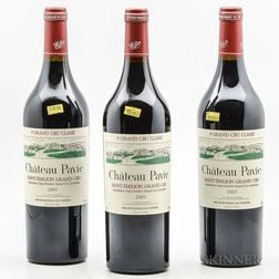 Chateau Pavie 2003, 3 bottles