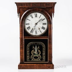 Ansonia Rosewood Shelf Clock