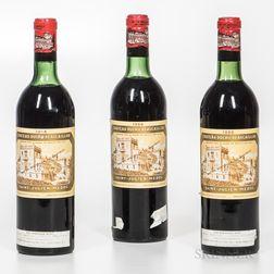 Chateau Ducru Beaucaillou 1966, 3 bottles