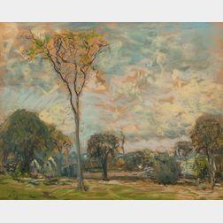 Arthur Clifton Goodwin (American, 1866-1929)      Summer Landscape